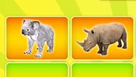 gratuit : Puzzle d'animaux pour filles