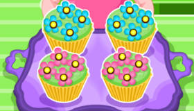 cuisine : Cupcakes en fleurs