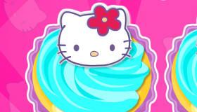 cuisine : Cupcakes Hello Kitty