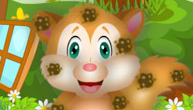 gratuit : Nettoyer un petit écureuil - 11