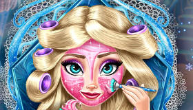 Relooking d'Elsa de la Reine des Neiges