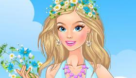 gratuit : Habillage de printemps en fleurs - 11