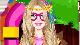 Un style hipster pour Barbie