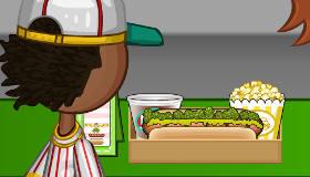cuisine : Papa Louie Hot Doggeria