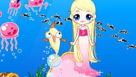 décoration : Jeu de dauphin