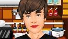 stars : Justin Bieber cuisine