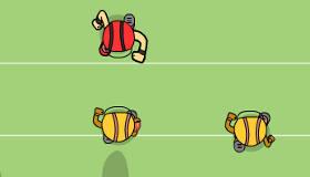 Jeux de fille : Technique en football américain