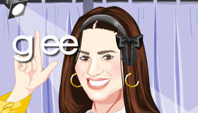 stars : Habillage Lea Michele de Glee