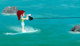 gratuit : Lego et le ski nautique