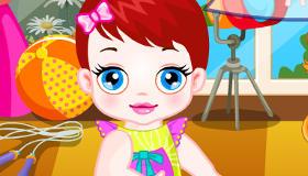 Jeux de fille : Bébé Lulu à la garderie