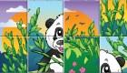 gratuit : Puzzle de panda - 11