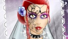 maquillage : Jeu de mariée gothique