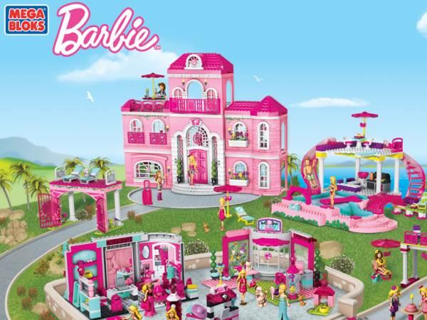 nouveaux jouets de mega bloks barbie toute l actu fun jeux 2 filles. Black Bedroom Furniture Sets. Home Design Ideas