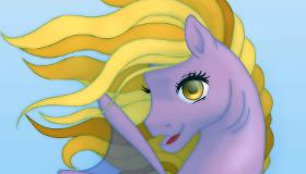 gratuit : Crée ton propre poney-sirène