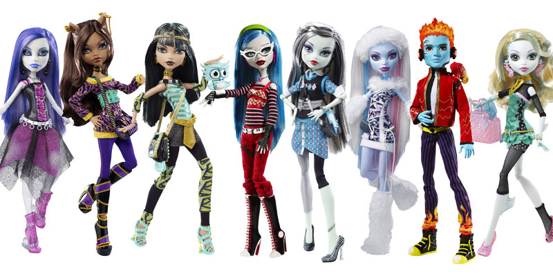 les poup es du moment barbie vs monster high toute l actu fun jeux 2 filles. Black Bedroom Furniture Sets. Home Design Ideas