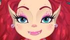 maquillage : Jeu de relooking de monstre