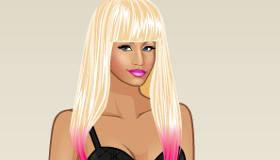 stars : Jeu de mode Nicki Minaj