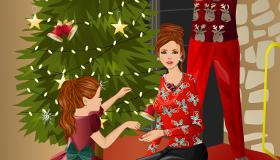habillage : Noël en famille