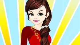 habillage : Sara, profession mannequin