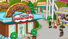 jeux cuisine : Papa's fait des donuts