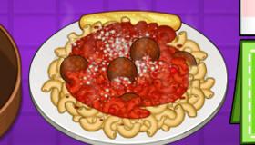 cuisine : Papa Louie Pastaria