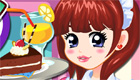 cuisine : Une fille pâtissière