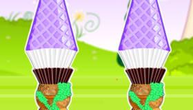 cuisine : Les cupcakes de Raiponce