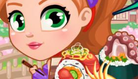 jeux cuisine : Sushi Ninja Chef