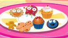 Jeux de fille : Décorer des petits gâteaux