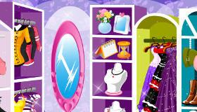décoration : Un dressing de fille