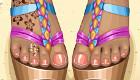 maquillage : Des sandales pour filles