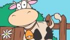 gratuit : Jeu de coloriage de vache