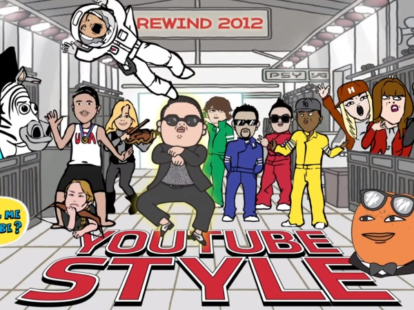 Rewind Youtube Style : le Best of 2012 !