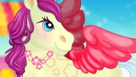 gratuit : Soigner un poney magique