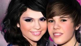 stars : Selena Gomez et Justin Bieber - 10