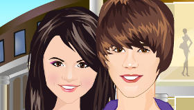 stars : Justin Bieber et Selena Gomez font les boutiques