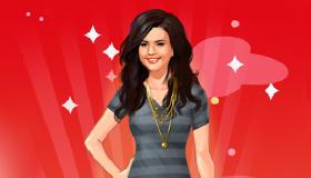 stars : Jeu d'habillage Selena Gomez