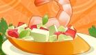 Jeux de fille : Jeu de cuisine à la crevette