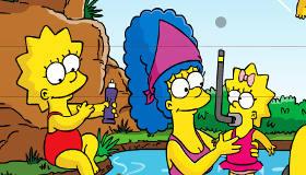 stars : Puzzle des Simpson