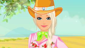 stars : Barbie en cavalière