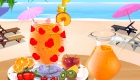 cuisine : Décoration de smoothie