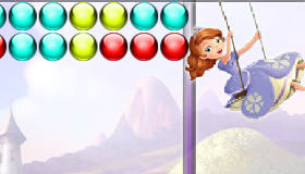 Jeux de fille : Princesse Sofia Bubble Shooter