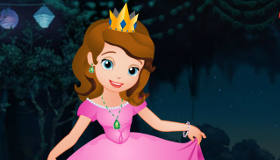 habillage : Robe de bal Princesse Sofia - 4