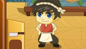 cuisine : Jeu de Ko-Bushi dans un restaurant