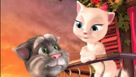 stars : Talking Tom and Angela