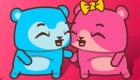 gratuit : Jeu de bisous en ligne