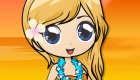 habillage : Habille une fille hawaïenne