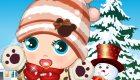 habillage : Jeu de bébé en hiver