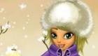 Jeux de fille : Habille Lisa pour l'hiver