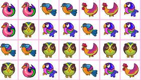 gratuit : Assemble les oiseaux identiques